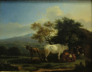 Ddietrich Пейзаж со стадом