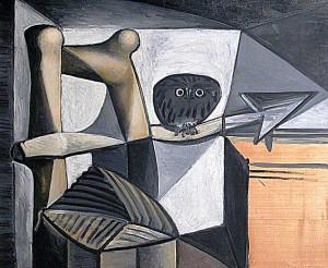 Pablo-Picasso_Chouette-dans-un-interieur_1946