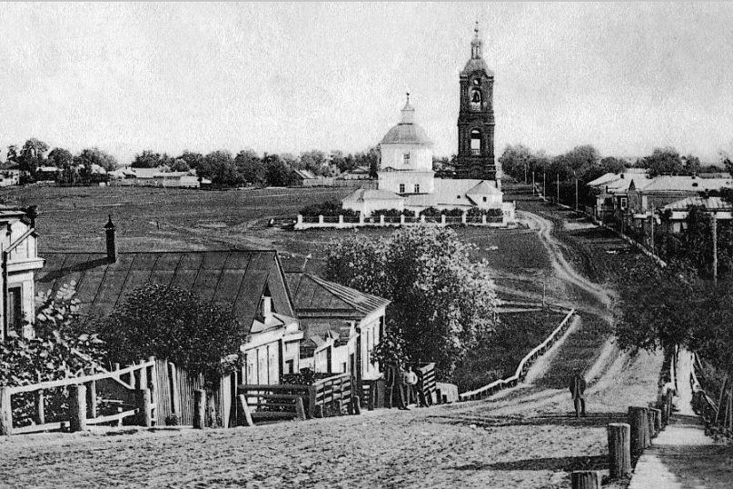 Успенский спуск Успенская церковь и колокольня(Спуск от памятника патриарху Никону)