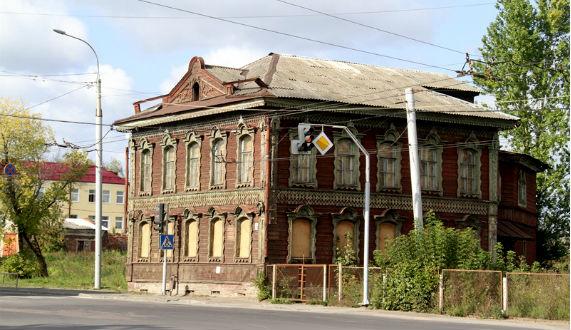 здание в Рыбинске