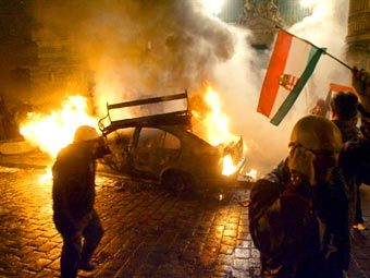 Протесты в Венгрии 2006