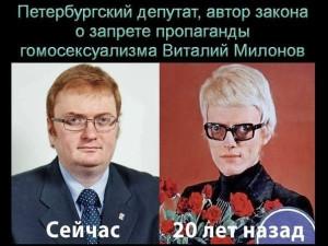 Милонов, 20 лет спустя