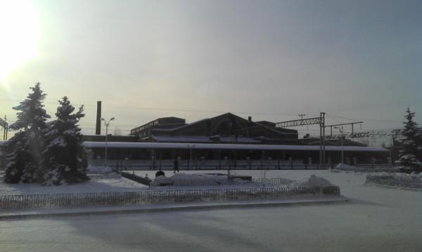 Вокзал в Конотопе