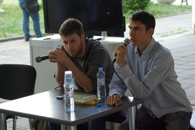 Сергей Шаргунов на презентации Книги без фотографий