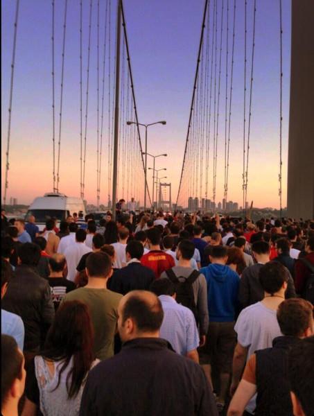 Протесты с Стамбуле