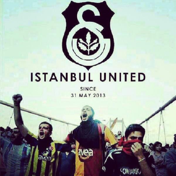 Протестная символика - Турция