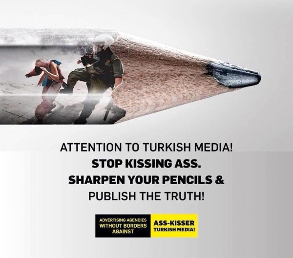 Attention to turkey media