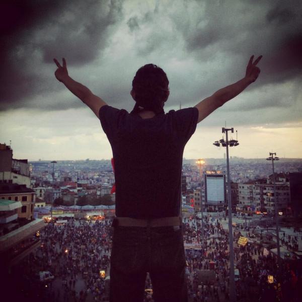Протесты в Турции - от Anonymous