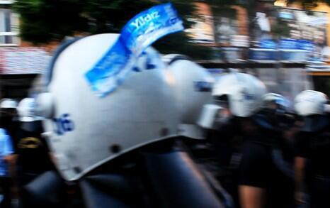 Полиция прячет номера в Анкаре