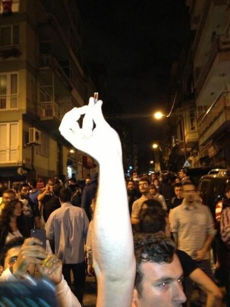 Police used bullets in Istanbul!