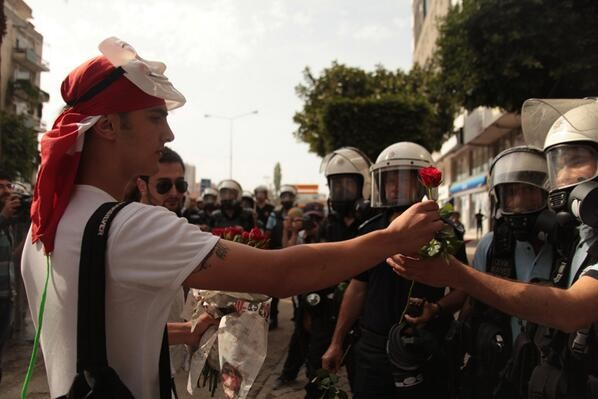 Resistance in Adana today started with protestors