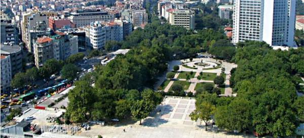 Парк Гези в Стамбуле, 2012 год