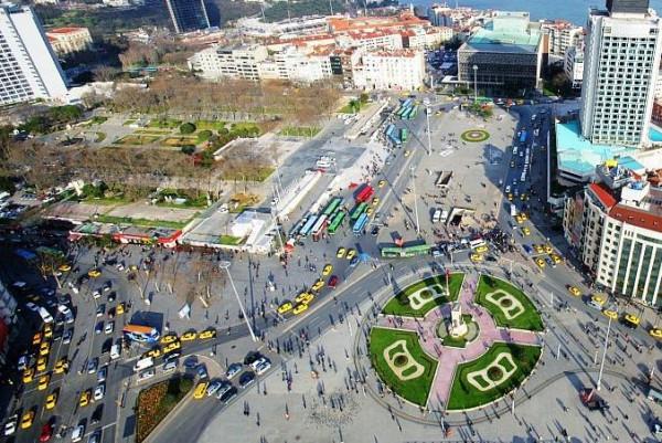Парк Гези и площадь Таксим