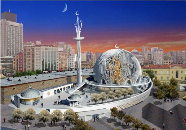 План строительства мечети на площади Таксим