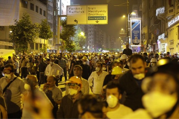 Streets in Şişli ready to action