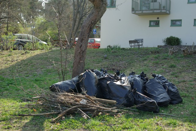 Последствия уборки мусора