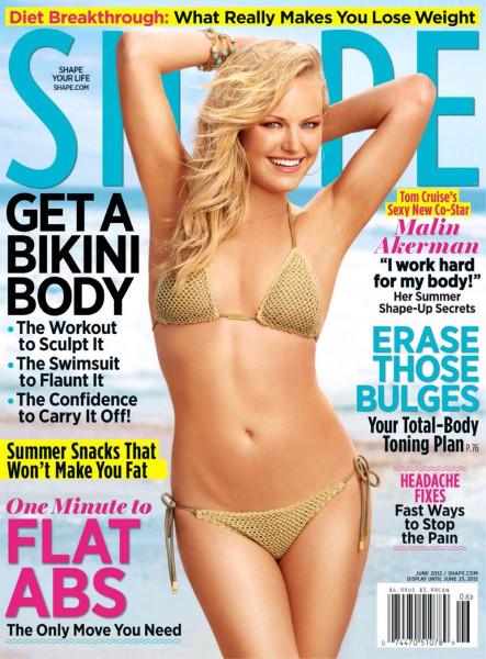 Обложка журнала Shape