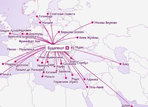 WizzAir - рейсы из Будапешта!