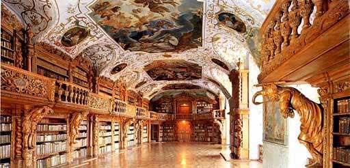 библиотека, германия, бавария