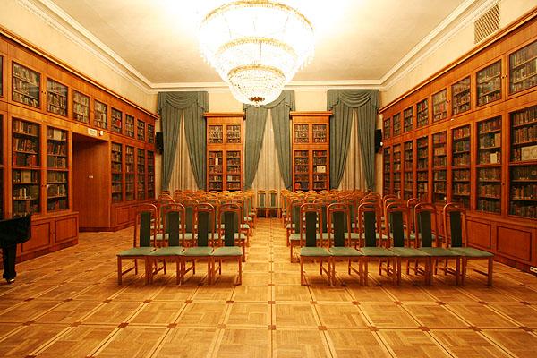 Овальный Зал Библиотеки Иностранной Литературы, Москва
