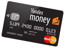 yandex money card