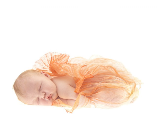Открытка младенец анна
