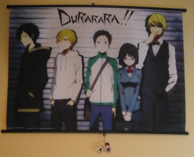 Durarara wallscroll