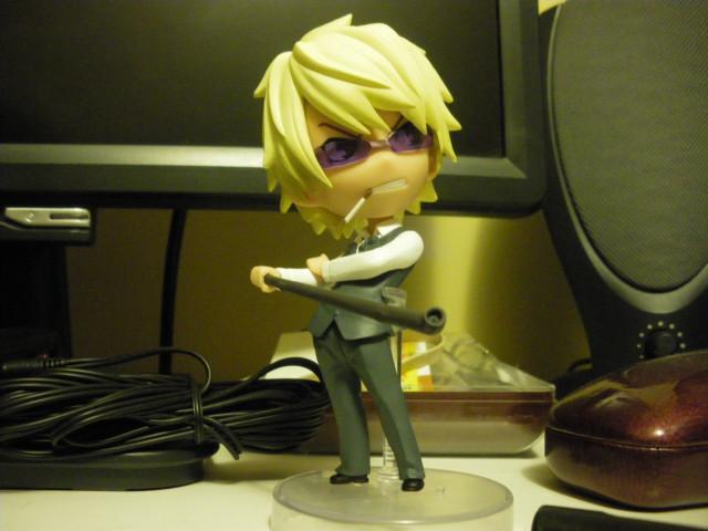Chibi!Shizuo figurine