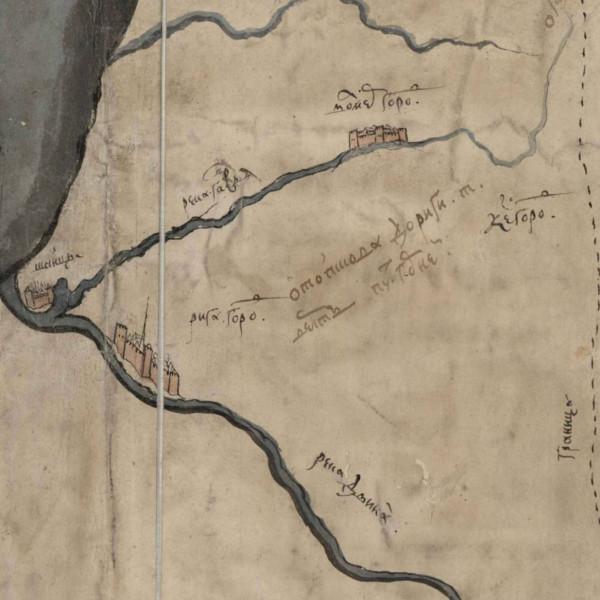 РГАДА, карта Ливонии