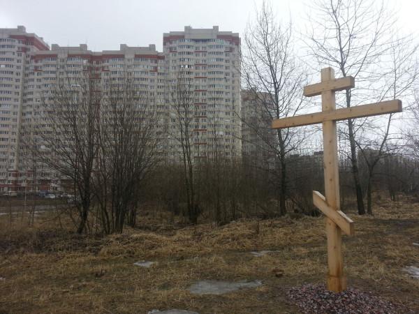 Памятник латышским стрелкам на улице Латышских Стрелков, Санкт-Петербург