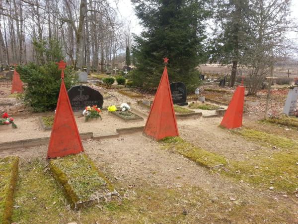 Вайнёде, гражданское кладбище