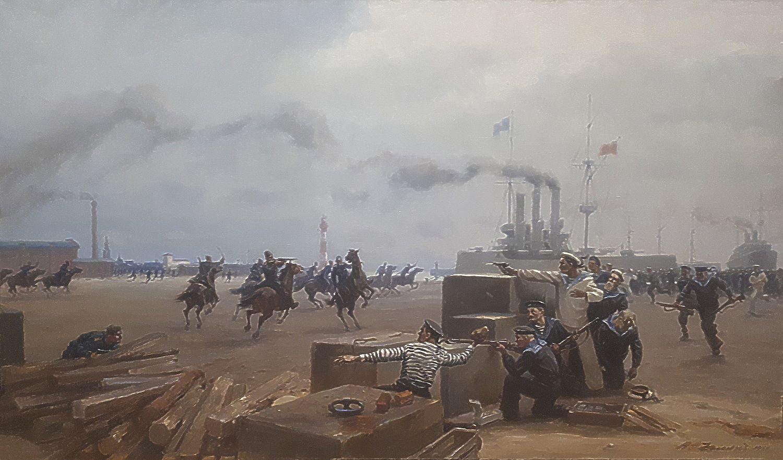 Звиедрис, Восстание матросов в Либаве