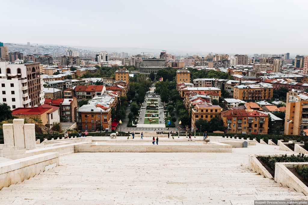 Армения и Грузия. Ереван.