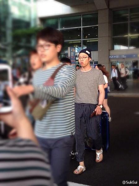 140530 Macau to Incheon Airport Yoochun