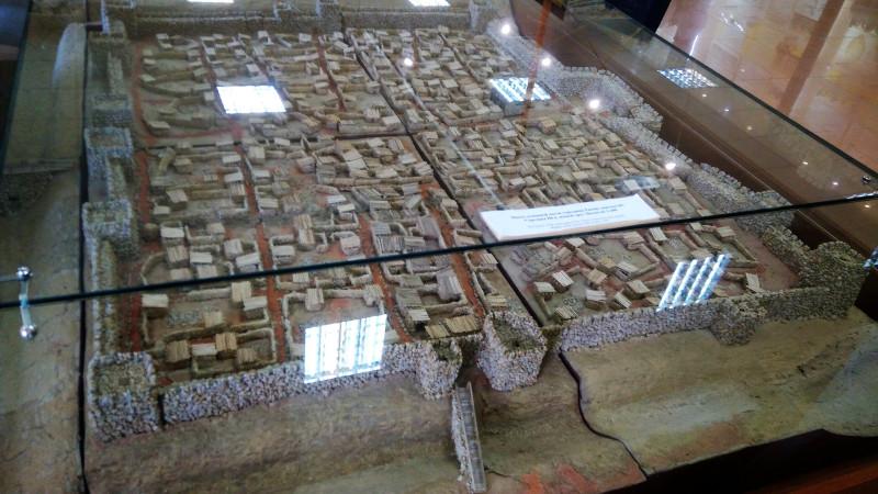 Музей истории Танаиса. Макет Танаиса. Сравните с первым снимком — открыта лишь незначительная часть города. Фото: С. Плотников.