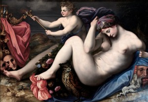 Allegory of the Night Michele di Ridolfo del Ghirlandaio 1553-55 Colonna Gallery Rome.jpg