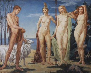 Margaret Maitland Howard British born 1898 The Judgment of Paris.jpg