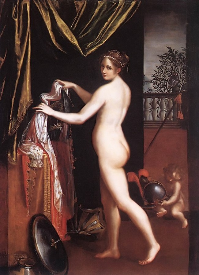 Фонтана Лавиния (Fontana Lavinia) (1552-1614) - итальянская художница периода раннего барокко.