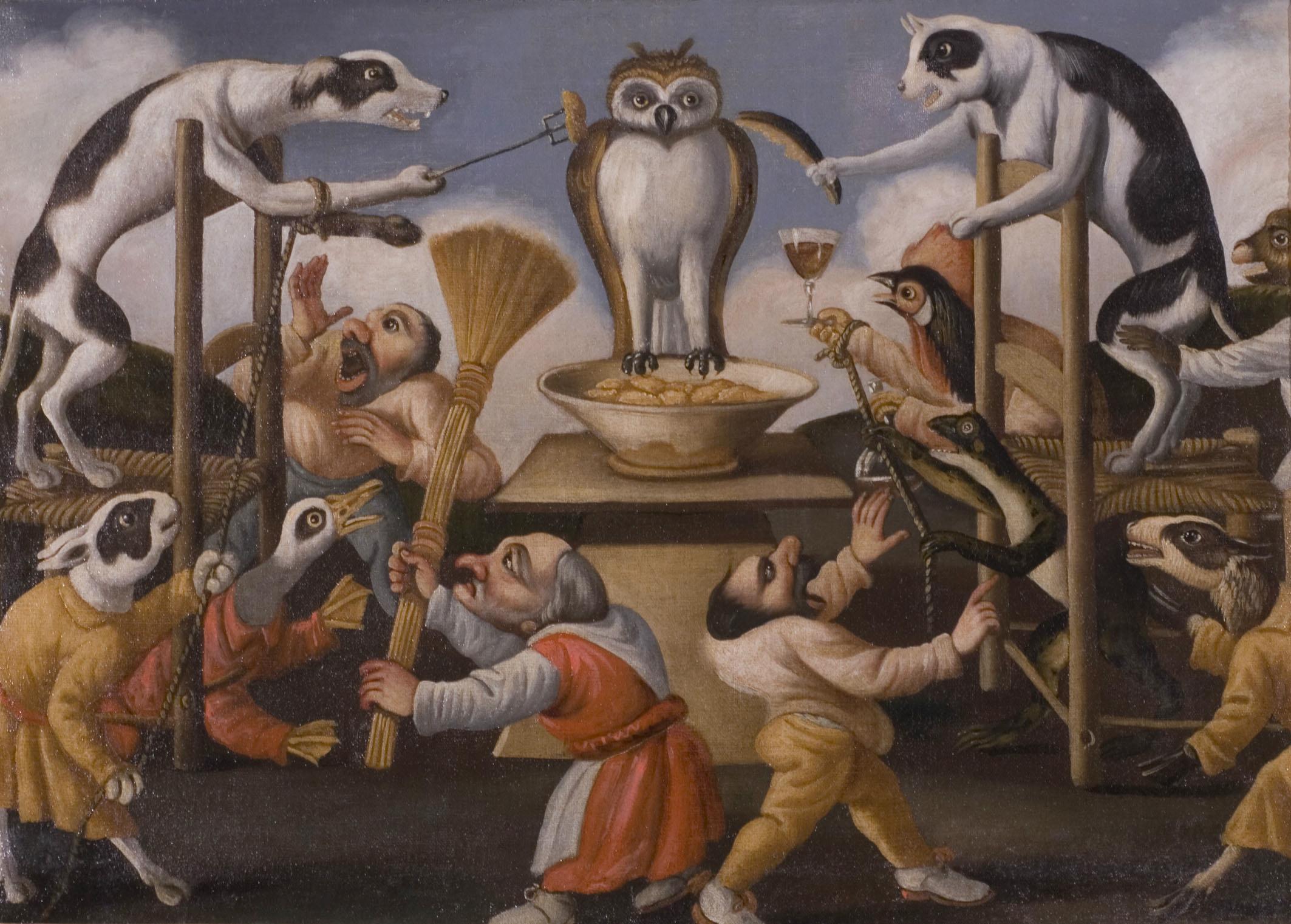 """Musée Fesch, Ajaccio, CorseНеизвестный художник 17 века, получивший название по одной из своих картин - """"MASTER DI FERTILITA 'DELLE UOVA"""""""