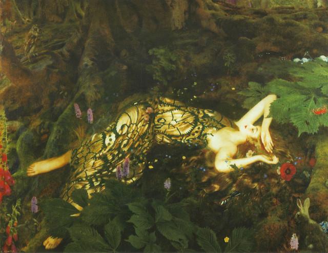 Спящая титания, 1928.