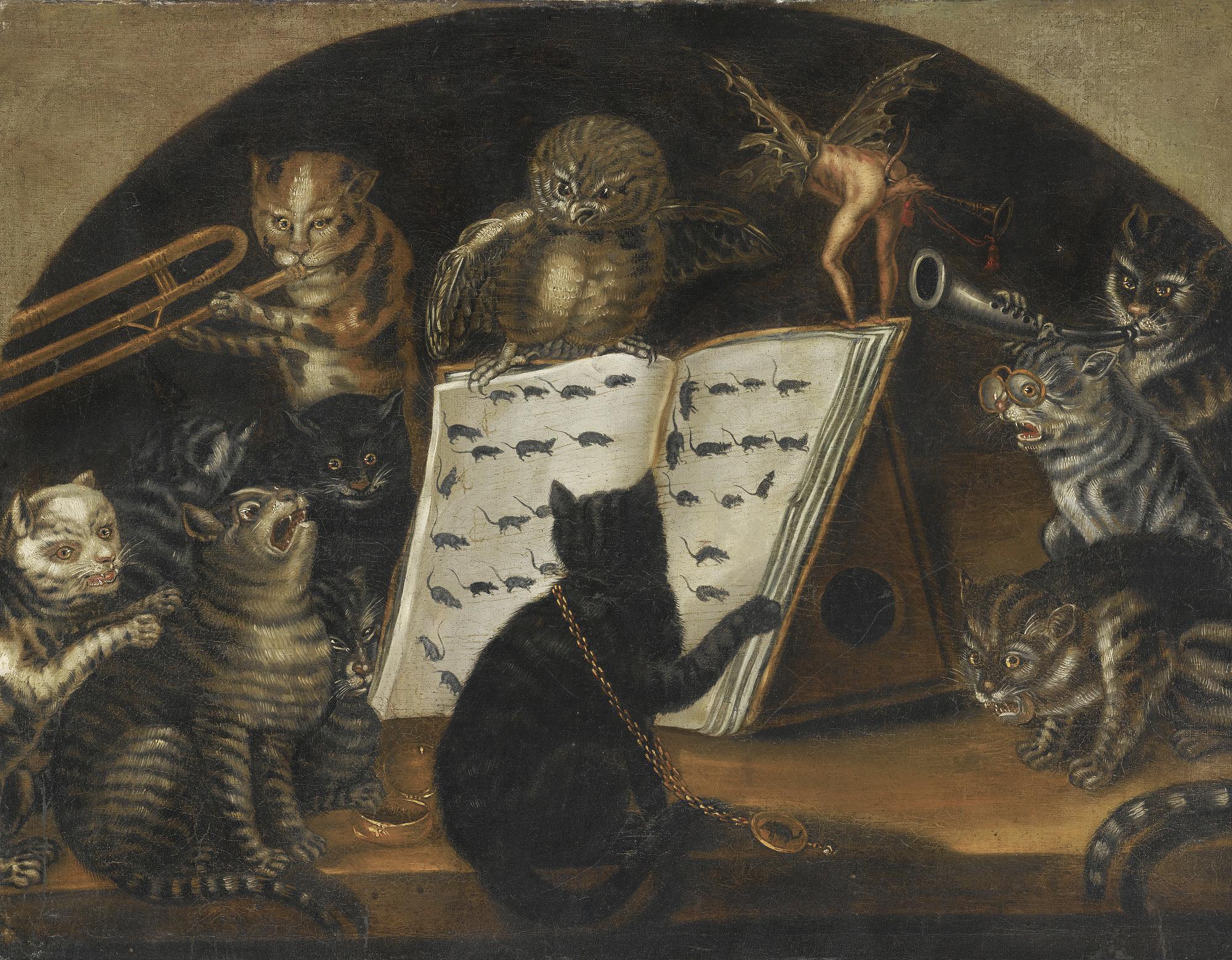 Кошачий концерт