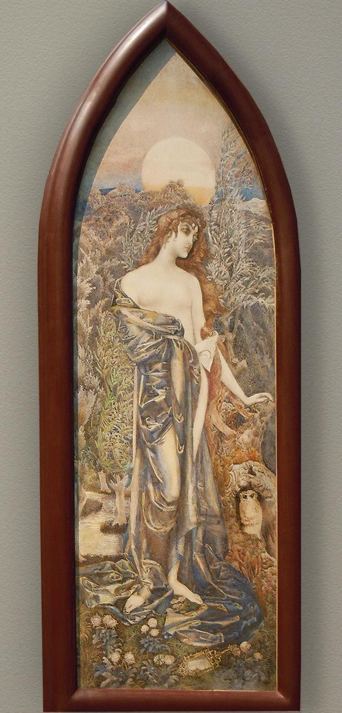 """Декоративное панно \\""""Философия\\""""  М.А.Врубель,1899 г."""