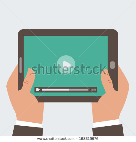 stock-vector-businessman-holding-tablet-computer-with-video-player-on-the-screen-in-the-human-hands-vector-168319676