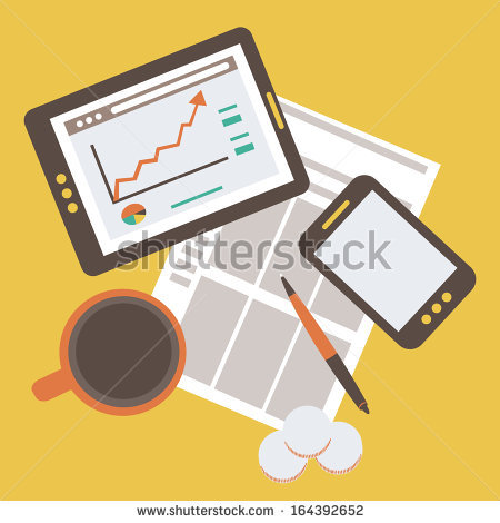 stock-vector-flat-illustration-of-modern-business-and-statistics-164392652