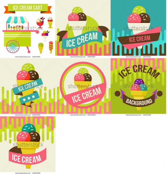 stock-vector-illustration-of-ice-cream-cart-isolated-in-white-background-194947994