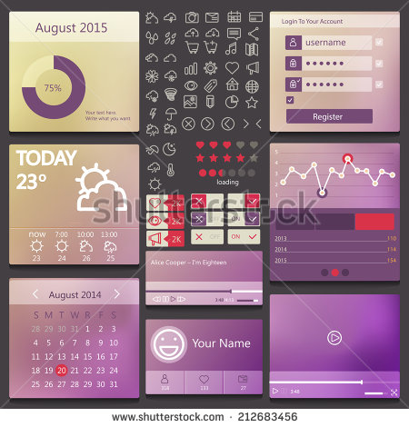 stock-vector-set-of-various-elements-used-for-user-interface-212683456