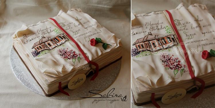 Торт в виде прав фото 8