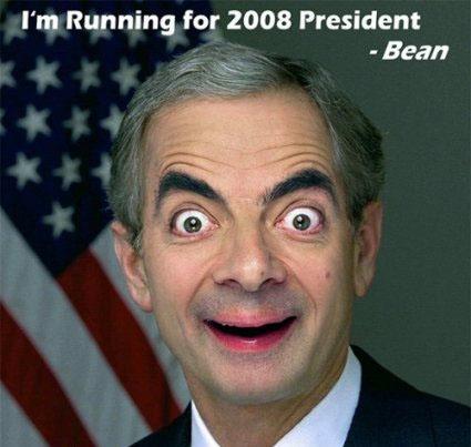мистер бин - президент США