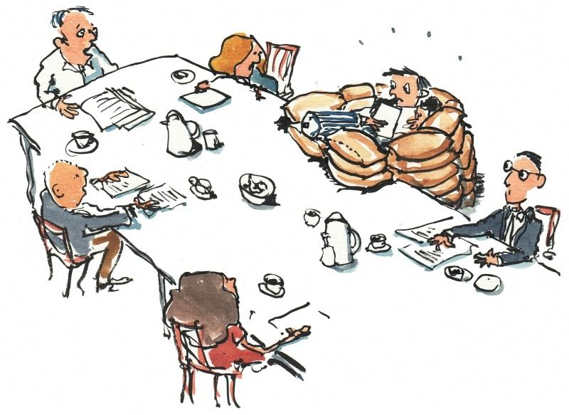 совещание топ-блогеров