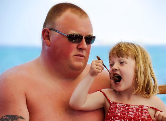 папа и доча